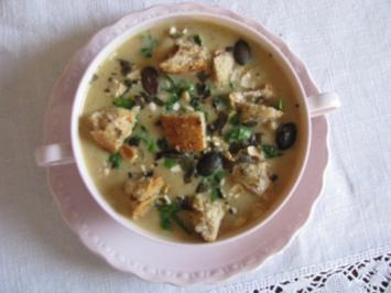 Suppen: Apfel-Kartoffelsuppe - Rezept