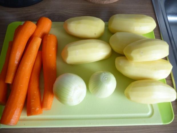 Suppen & Eintöpfe : Geraspelter Kartoffel - Möhreneintopf - Rezept - Bild Nr. 2
