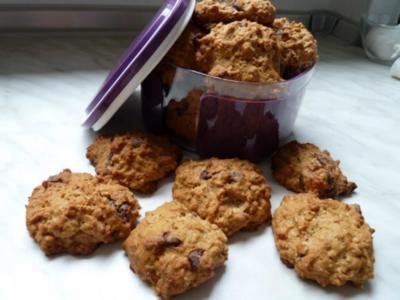 Haferflocken-Kekse - Rezept