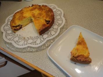 Zwetschgen / Pflaumen Kuchen mit Marzipan Brösel - Rezept