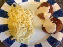 Kartoffel - Hack - Bratlinge mit Tahina - Rezept