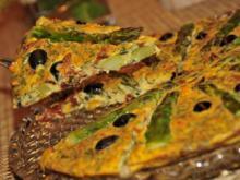 Frittata mit Spargel - Rezept