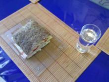 Frühstück: Belegtes Focaccio - Rezept