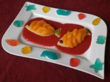 Rezepte für Kinder 11 : Goldfische im roten Meer ... - Rezept