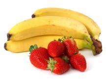 Bananen-Erdbeermilch - Rezept