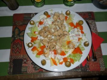 Salat meets Pute - Rezept
