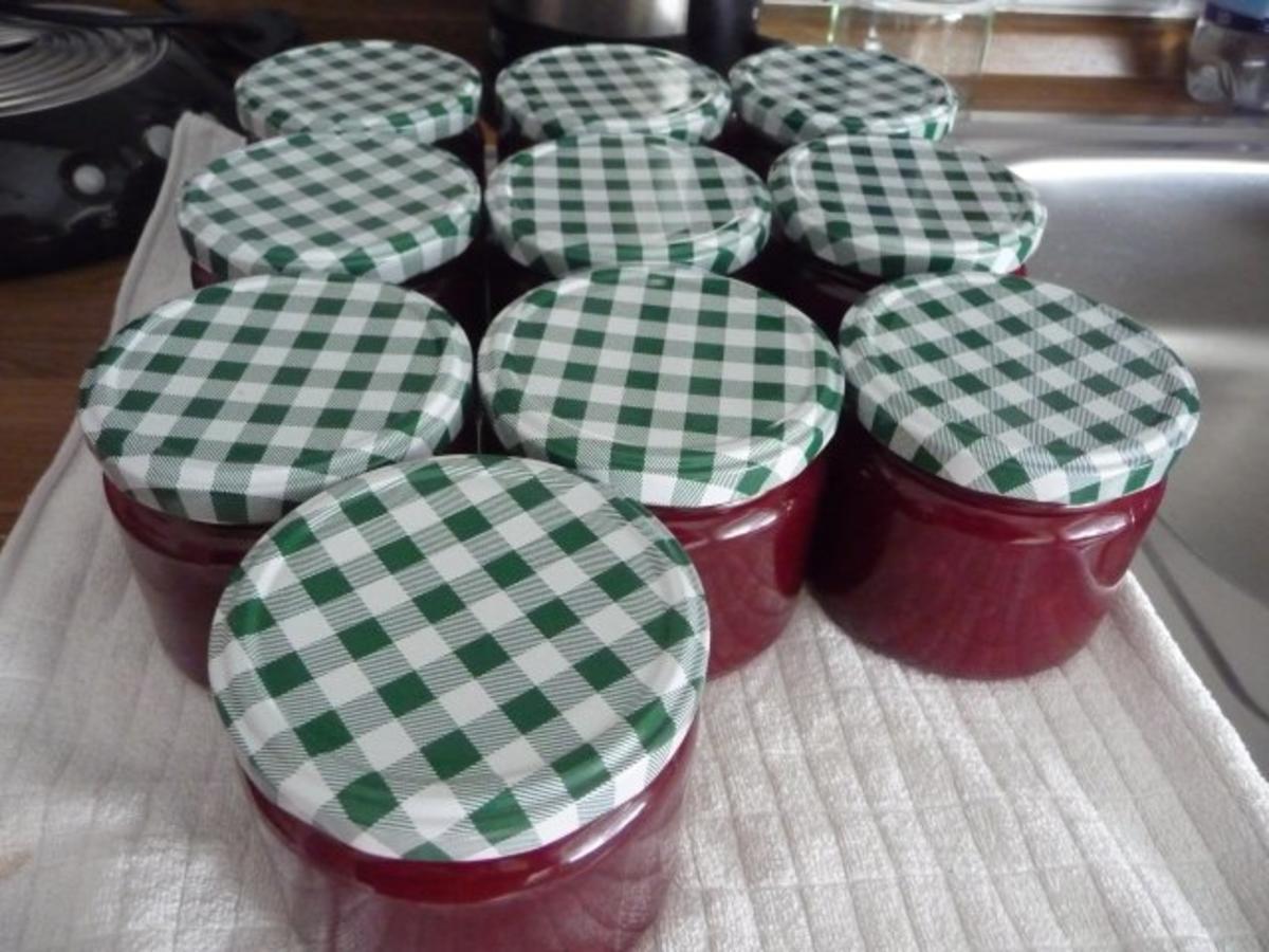 Marmelade : Kirschmarmelade Rezept Von Einsendungen Forelle1962