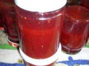 Erdbeer-Kiwi-Nektarien-Konfitüre - Rezept