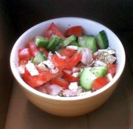 Gourmelinis Mittagspausensalat - Rezept