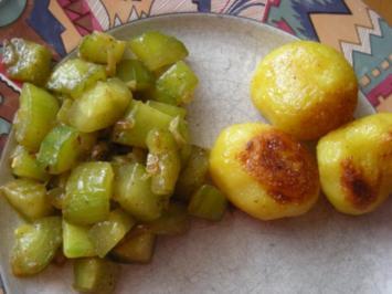 Schmorgurken Piri Piri - Rezept