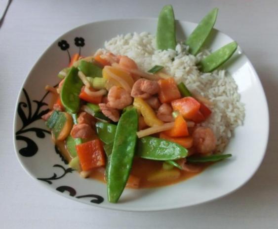 Thailändische Wok Pfanne - Rezept - Bild Nr. 4
