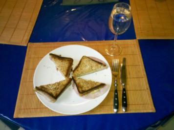 Abendbrot: Croque Monsieur mal anders! - Rezept