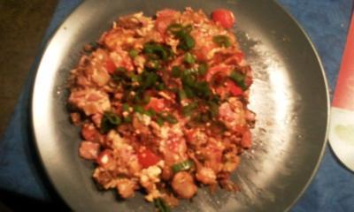 Rezept: Nightcookers Reste-Omelett