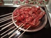 Fleischspiese libanesisch - Rezept