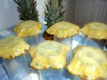 Dessert: Ananas-Schälchen - Rezept