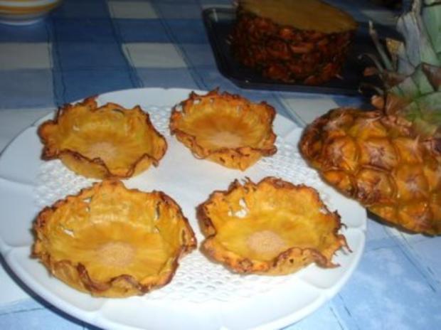 Dessert: Ananas-Schälchen - Rezept - Bild Nr. 2