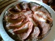 Birnen-Schoko-Kuchen - Rezept