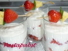 Erdbeer-Quarkspeise - Rezept