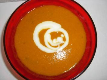 Suppe: würzige Dhal-Karottensuppe - Rezept