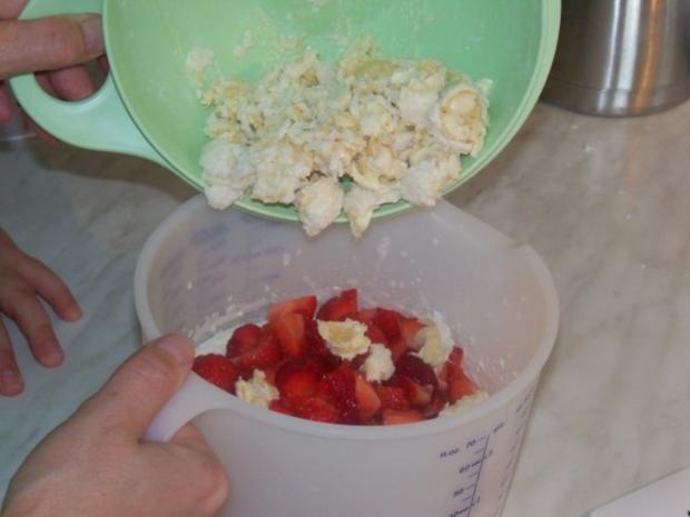 Raffaello-Erdbeer Torte - Rezept - Bild Nr. 6