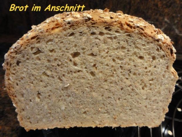 Brot:  VOLLKORN - HAFERFLOCKEN - Rezept - Bild Nr. 2