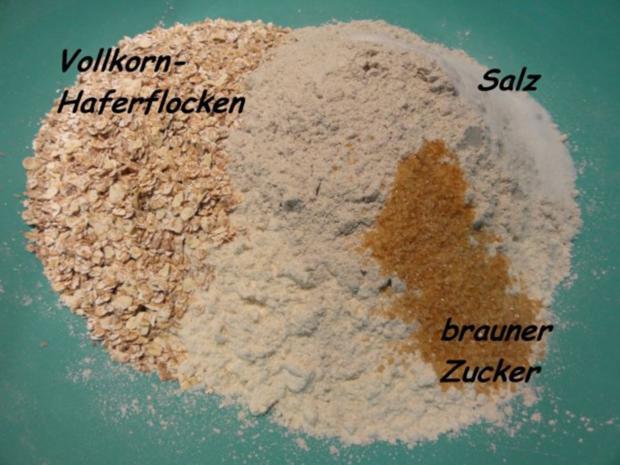 Brot:  VOLLKORN - HAFERFLOCKEN - Rezept - Bild Nr. 5