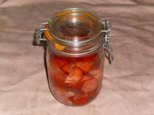 Erdbeer- Obstler - Rezept
