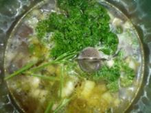 Fleischbrühe Gemüsebrühe - Rezept