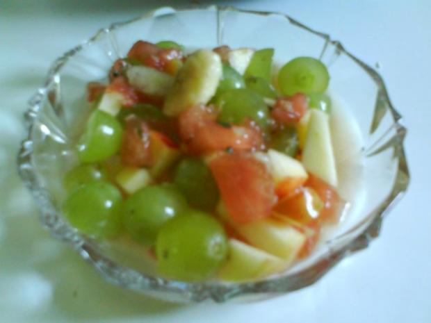Obstsalat mit frischer Zitronennote - Rezept - Bild Nr. 2