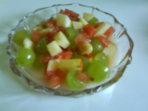 Obstsalat mit frischer Zitronennote - Rezept - Bild Nr. 3