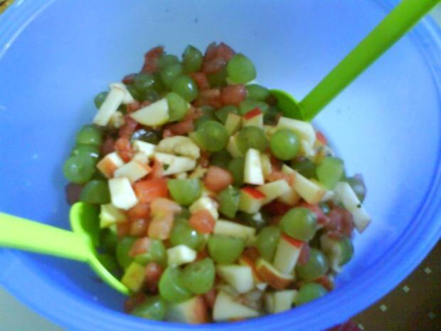 Obstsalat mit frischer Zitronennote - Rezept - Bild Nr. 5