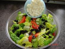 Salate : Griechischer Bauernsalat - Rezept