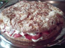 Erdbeer-Mandel-Kuchen - Rezept