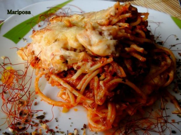Spaghetti-Lasagne - Rezept - Bild Nr. 3