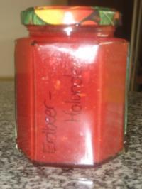 Erdbeer-Holunderblüten - Rezept