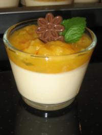 Orangen-Schmand-Creme - Rezept