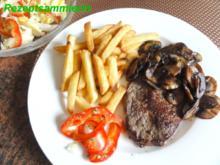 Fleisch:    HÜFTSTEAK mit Champignon - Rezept