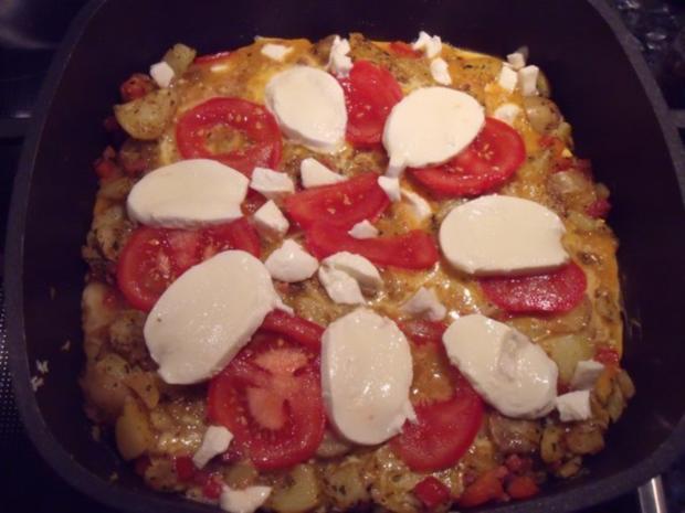 Tortilla im Ofen gebacken - Rezept
