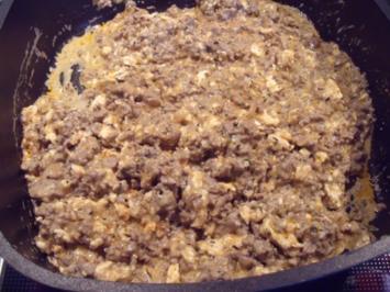 Schafskäse-Joghurt-Hackfleisch-Sauce - Rezept
