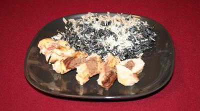 Gefüllte Maispoularde mit Linguine und Sommertrüffeln - Rezept