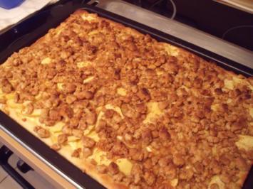 Apfel-Vanillecreme-Kuchen - Rezept