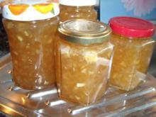 Birnen-Apfel-Marmelade mit Estragon - Rezept