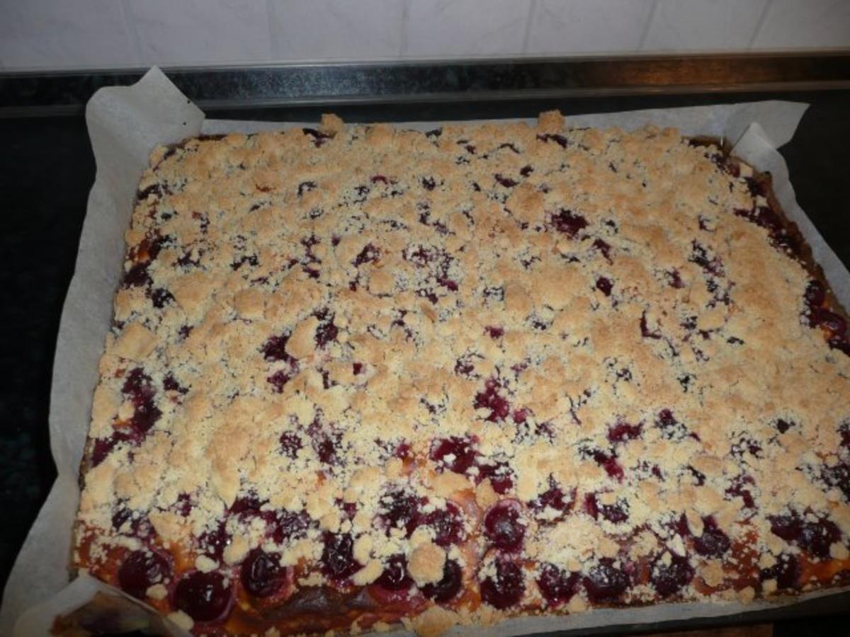 4 Kirschkuchen Mit Quark Und Streusel Rezepte Kochbar De