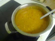 Soße mit Putenbrust und Gemüse - Rezept