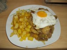 Krüstchen mit Röstkartoffeln - Rezept
