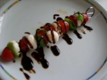 Minitomate trifft Minimozzarella - Rezept