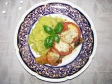 Fisch: Rotbarsch mit Mozzarella überbacken - Rezept