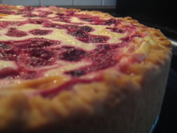 Schmand Himbeer Kuchen Rezept Mit Bild Kochbar De