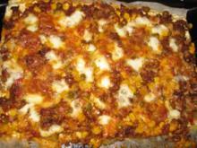 TexMex Blätterteigpizza - Rezept