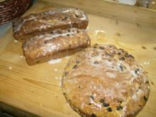 Rosinenhefekuchen ala Muttl auf Vorrat - Rezept